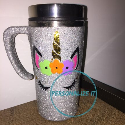 Customized travel mug هاندميد