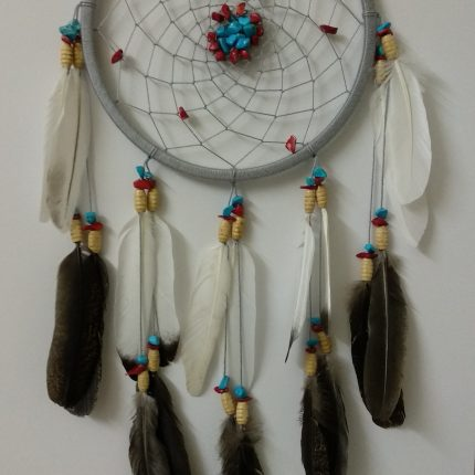 boho style dream catcher - wall hanging هاندميد