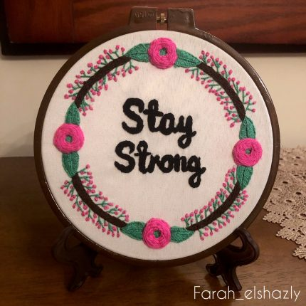 Stay strong هاندميد