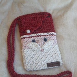 Christmas mini bag شنطة ميني هاندميد