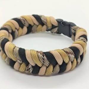 Paracord Colored Fishtail Bracelet III اسورة هاندميد